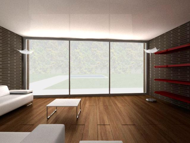 Chalets duplex interior 2