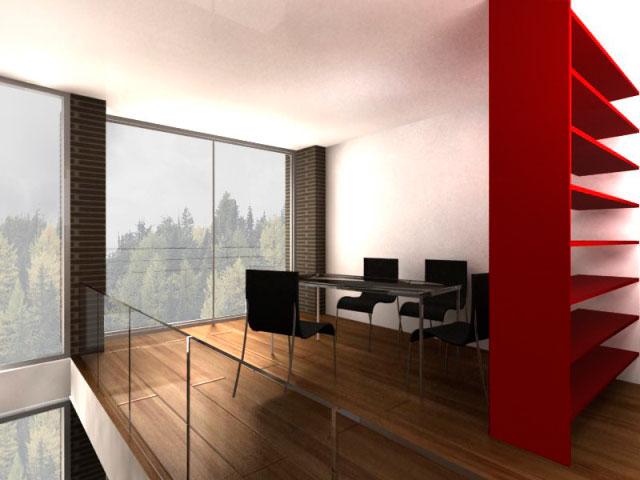 Chalets duplex interior 1