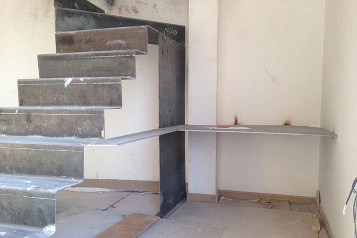 ejecucion de escalera de diseño