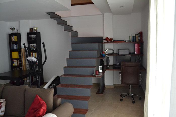 Escalera de diseño en Papiol