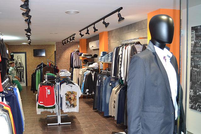 Reforma integral para tienda de moda masculina