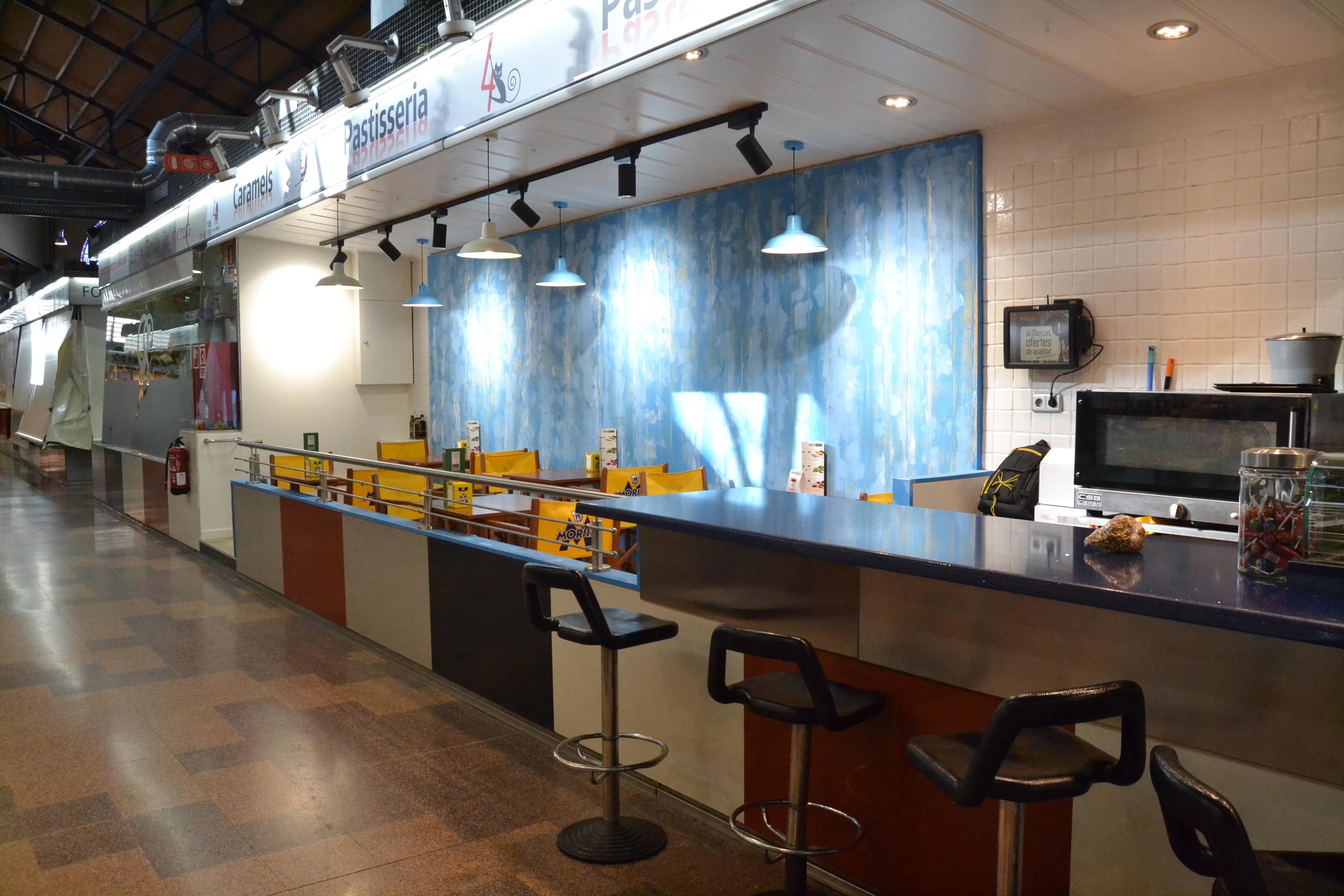 Reforma bar parada mercado central sabadell6