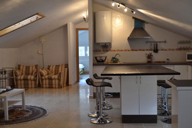 Reforma integral de piso atico, cocina salon