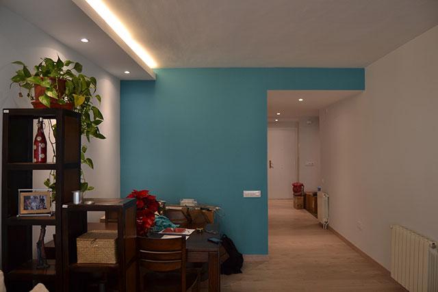 Reforma integral piso en Roger de Flor, salon