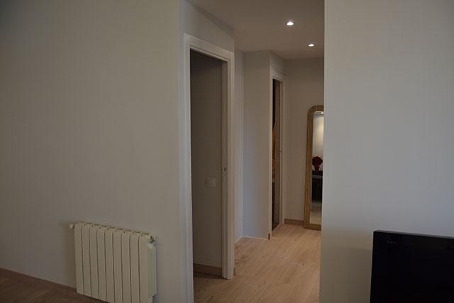 Reforma integral piso en Roger de Flor, pasillo habitaciones