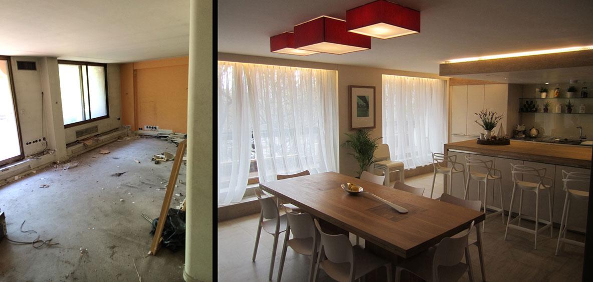 reforma piso alto standing